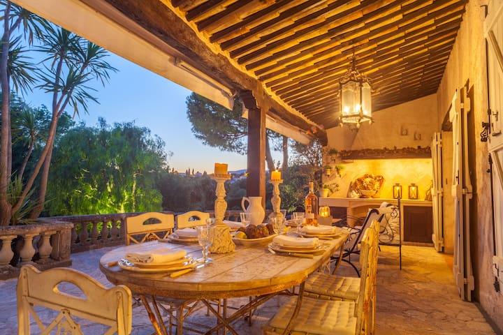 Charming Provençal villa with pool - Saint-Paul-de-Vence - Villa