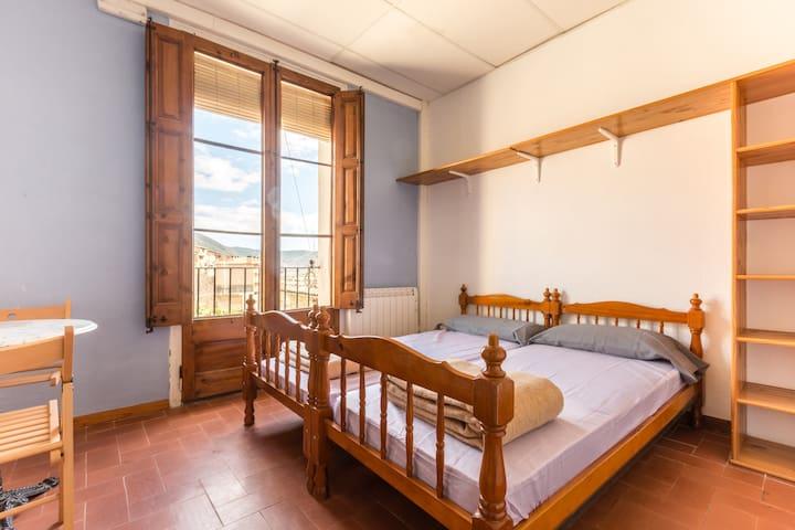 Alberg La Solana - 13 - Double Room With Two Single Beds (2 Guests) - Salàs de Pallars