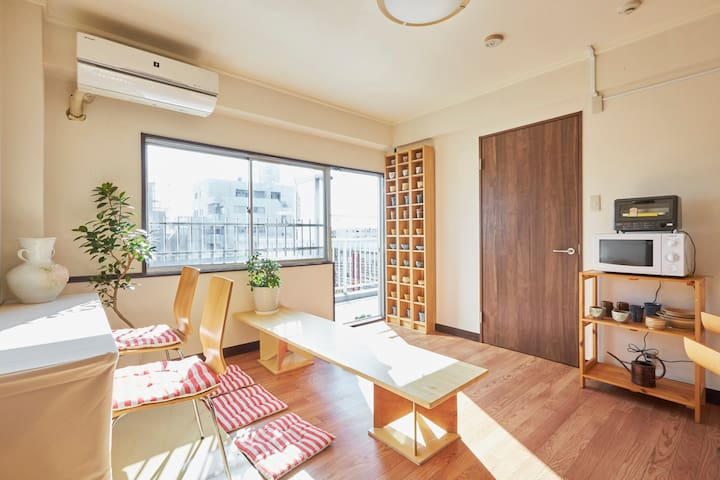 #C Enjoy Your Stay! with room mates - 足立区 - Leilighet