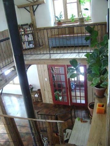 Maison famililale écologique au coeur de la nature - Sainte-Lucie-des-Laurentides - Apartamento
