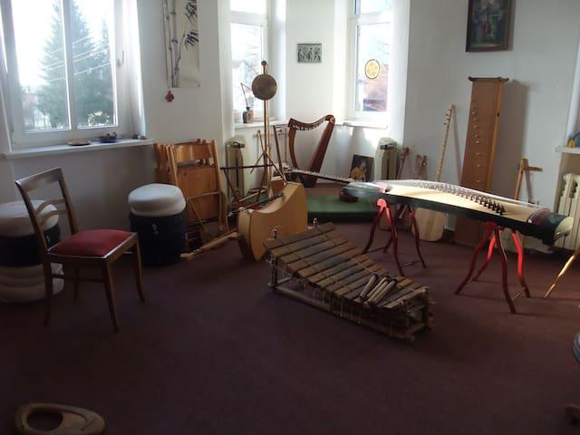 Romantische Villa im Grünen mit Musik - Weinböhla - 別墅