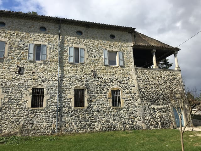 Ancien Moulinage de Soie de Mélas - Le TEIL - Hus