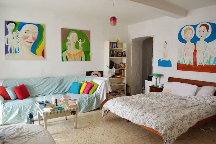 CLARE'S MAGICAL ARTHOUSE - Guardia Sanframondi - Maison