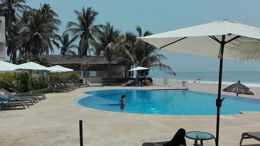 Agradable depa a la orilla del mar - Acapulco - Daire