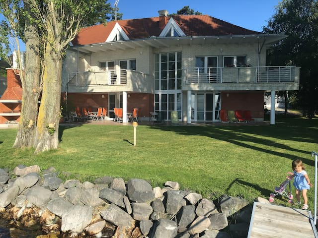 Apartments with large private beach - Siófok - Ev