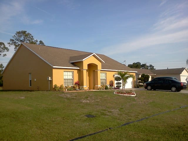 Place of Peace Comfort Tranquility - Port St. Lucie - House