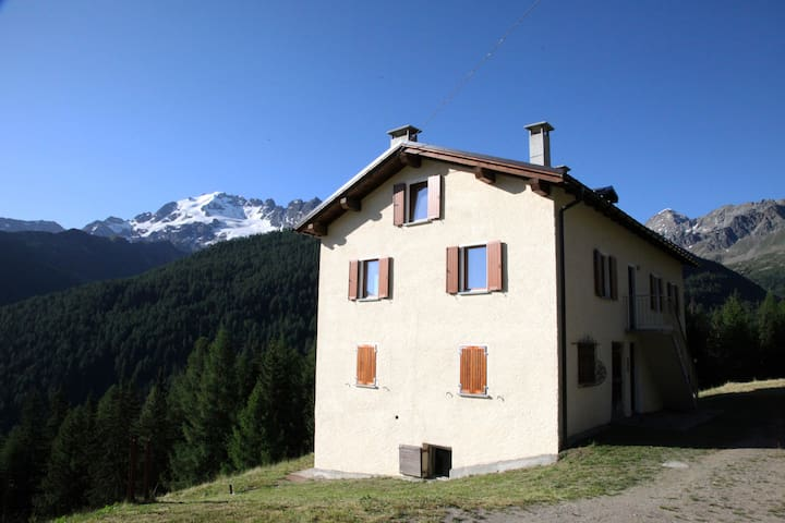 Baita Balzer, tra Bormio e Livigno. Elisa - Provincia di Sondrio - Apartamento