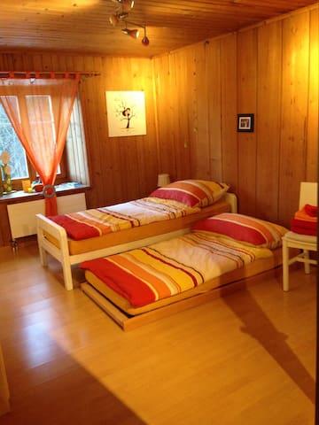 Gemütliches Zimmer für 2 Personen - Trin