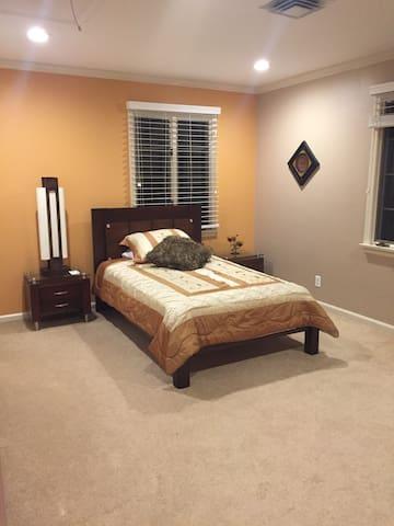 Relaxing Bedroom - White Plains