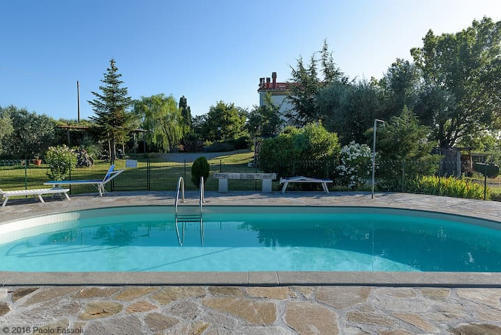 ROSA: Apartments with pool - Castel del Piano Montenero d'Orcia - Appartement