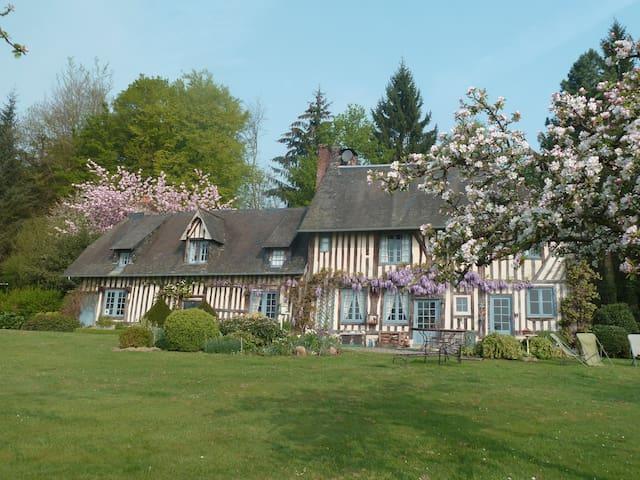 Manifique Manoir, près de Deauville et Honfleur - Pont-l'Évêque