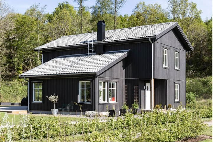 Cosy new built large house close to sea - Kungsbacka V - Talo