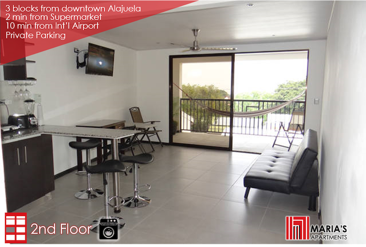 New apartment per day/week/month2 - Alajuela - Apartment