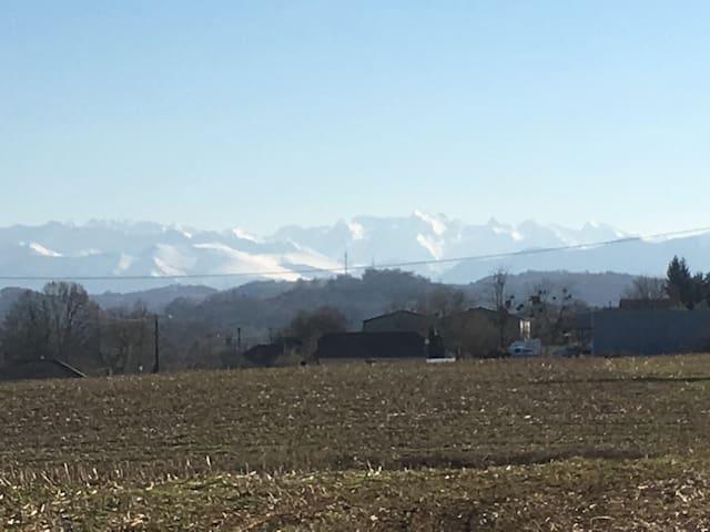 Monein-Pau villa face aux Pyrénées - Monein - Maison