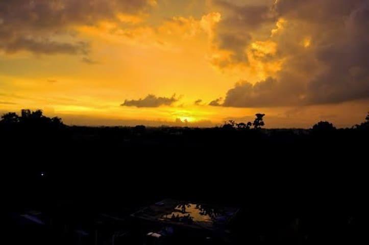 Merapi Mountain Sunrise View Apartment - Ngaglik - Daire