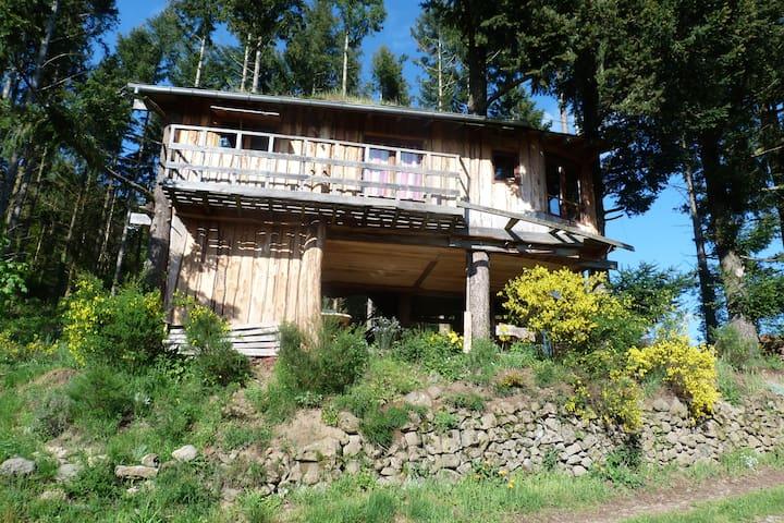 La cabane - Isserteaux - 小木屋