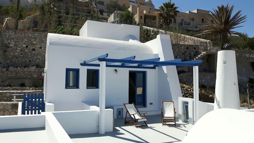 House with three terraces overlooking Aegean Sea - Pyrgos Kallistis - Ev