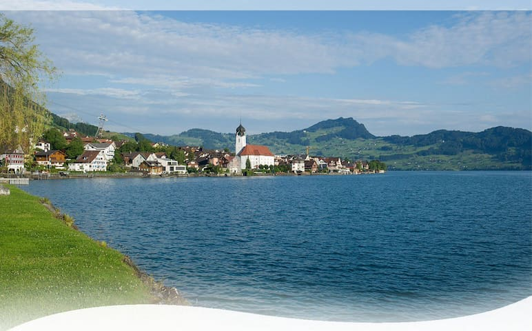 Spacious house close to the Lake of Lucerne - Beckenried - Casa