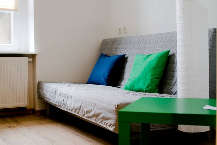 Cosy bedroom for two in Gliwice - Gliwice - Leilighet