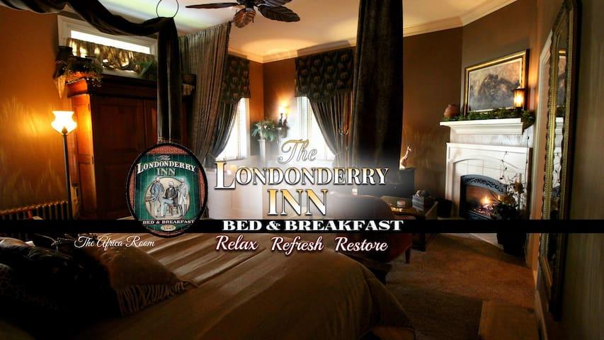 THE LONDONDERRY INN B&B's Africa Room - Palmyra