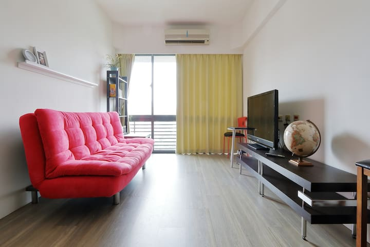 Pure Yoga Space with 2 bed rooms and kids friendly - Guishan District - アパート