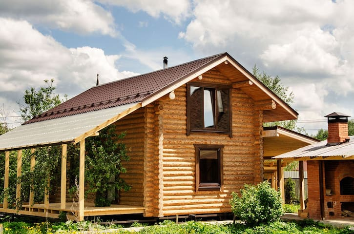 House with a Russian bath on the wood - Химки  - Hus