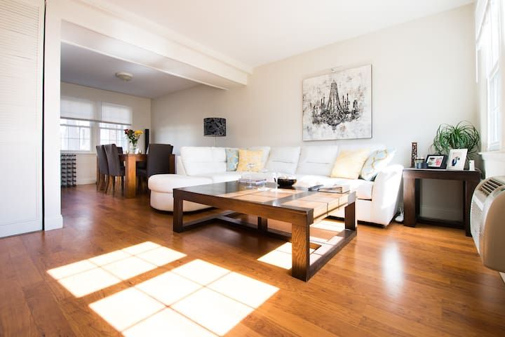 Nature, Beach and Providence City + Free Parking - East Providence - Adosado