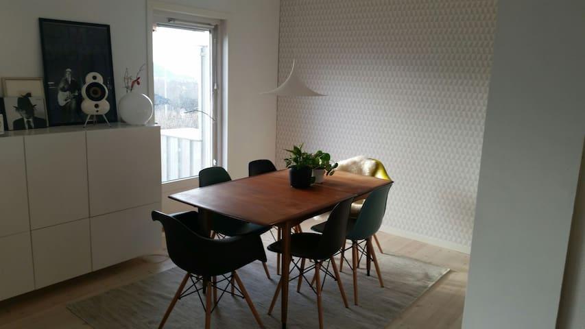 Hyggelig og moderne familiebolig - Trondheim - Hus
