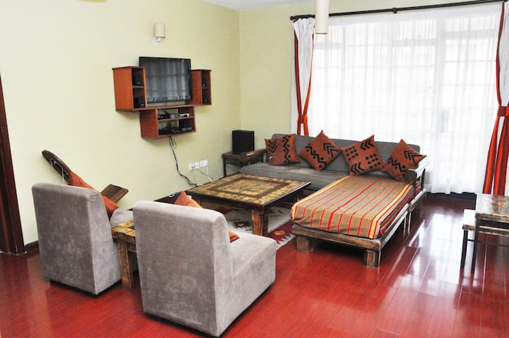 Ngong Road 3bed near Junction Mall and the Hub! - 奈洛比 - 公寓