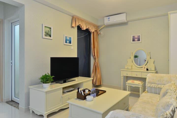 深圳世界之窗附近豪华一房一厅,私家花园公寓,适合旅游休闲。 - Shenzhen - Apartmen