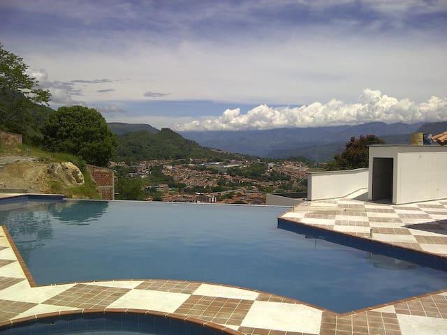 Apartaestudio, La mejor vista de San Gil. - San Gil - Loft