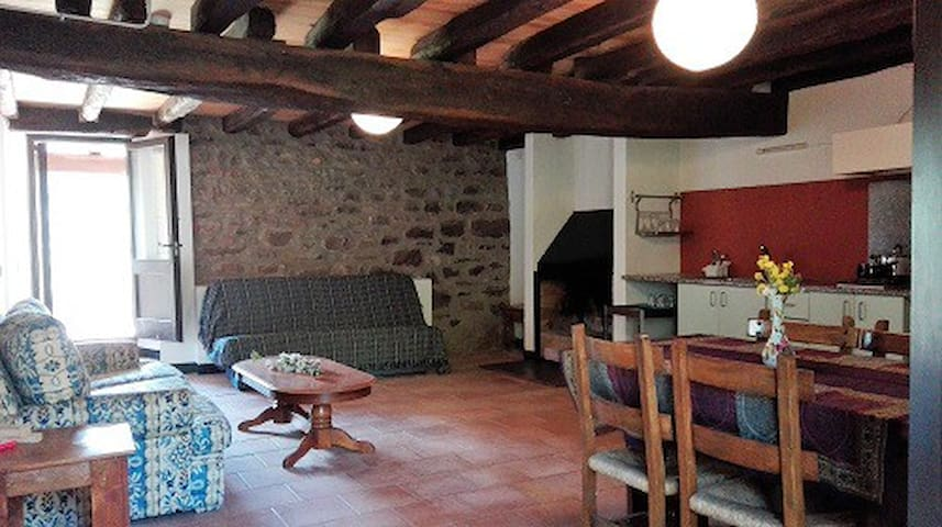 Family apartment in la Garrotxa, El Petirojo - Sant Ferriol - Appartement