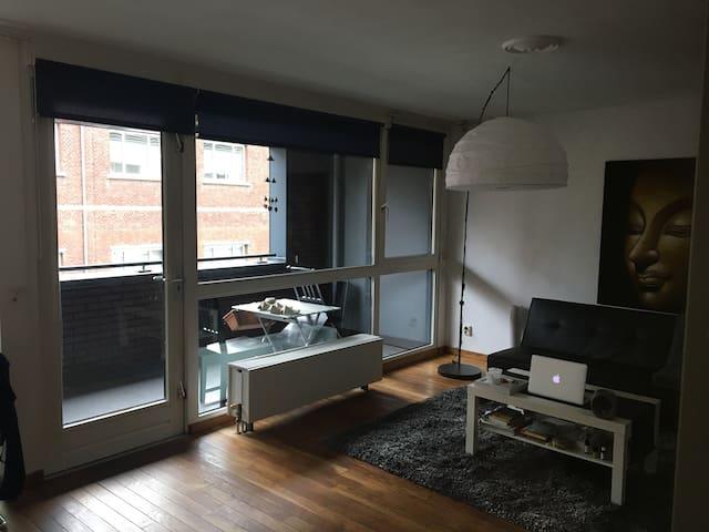 Convenient, clean apartment downtown/station area - Tilburg - Leilighet