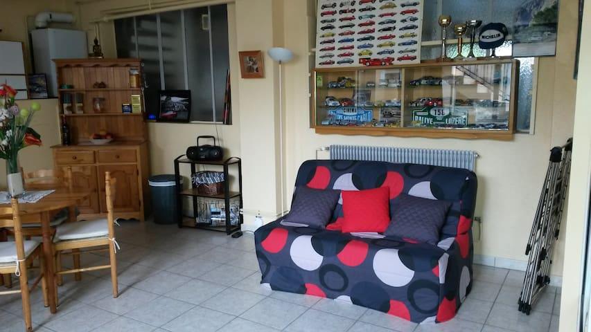 studio avec salle de bain privee - Brives-Charensac - Huis