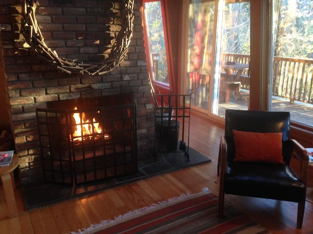 Winter is Cozy at The Toaster House - Mattituck