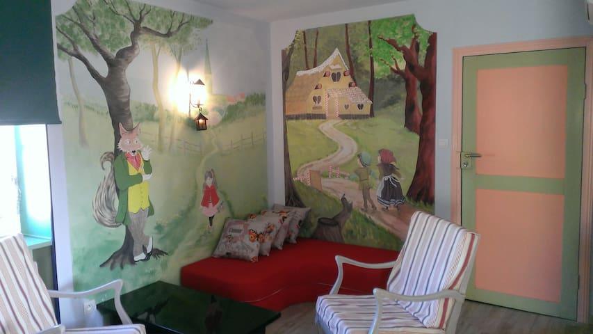 Appartement coquet climatisé 55 m² - Cruzy