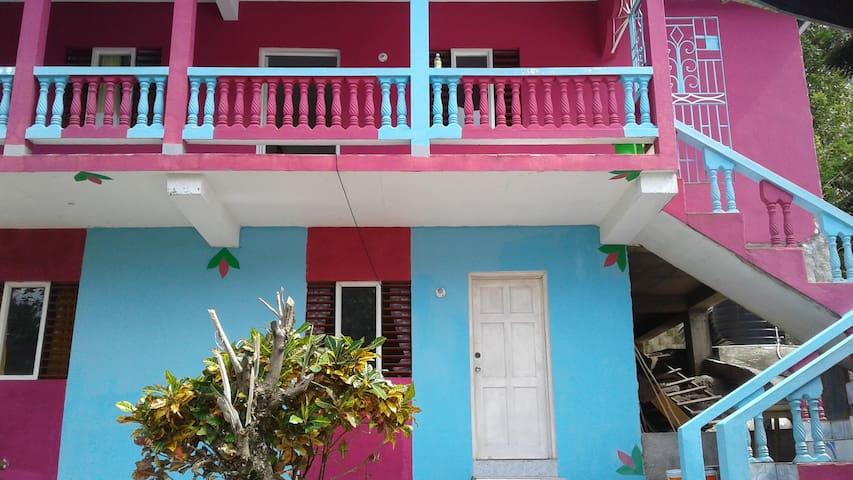 Pink & Blue House 23 Boundbrook Rd Port Antonio - Port Antonio - Casa