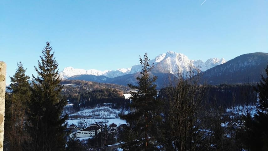 Lovely view of the Dolomites Montains - Tarvisio - Daire
