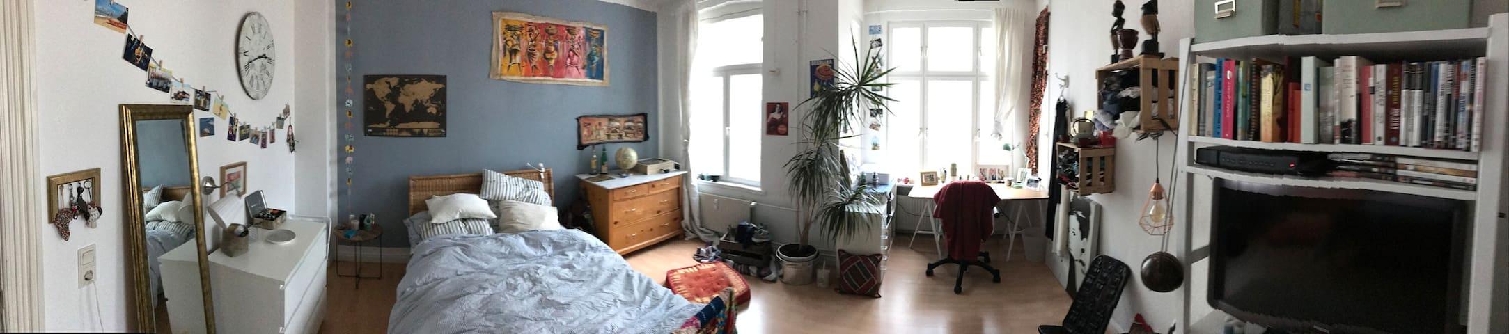Helles Zimmer im Zentrum Flensburgs - Flensburg - Appartement