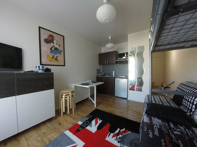 Studio 4 People VERY near Disneyland Paris - Montévrain - Leilighet
