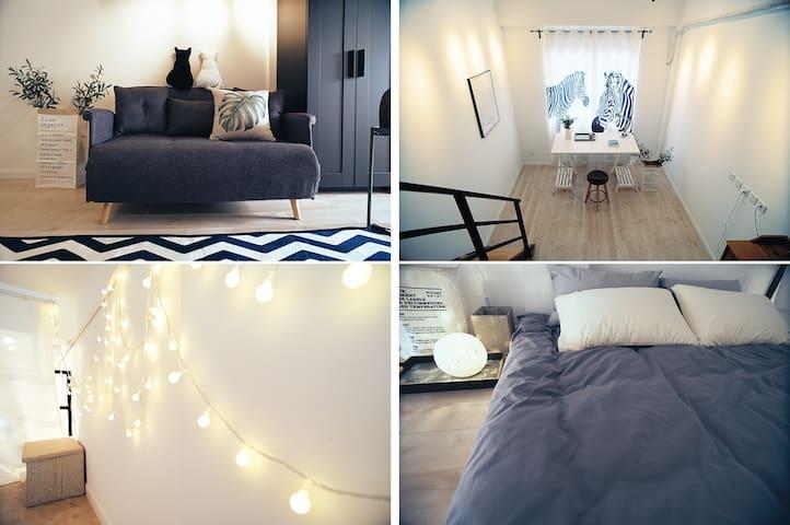 大都市•【小团圆】正市中心LOFT公寓~新屋上线优惠月 - Shanghai - Appartamento