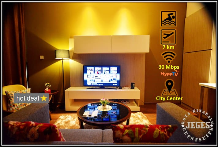 Cozy SOHO Suite with WIFI @ City Center/Imago Mall - Kota Kinabalu - Apartment