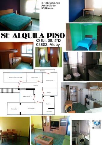piso en alcoy - Alcoi - Apartemen