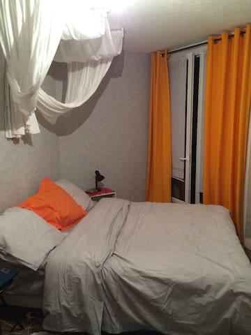 Cool room 30min from Paris - Franconville - Apartamento