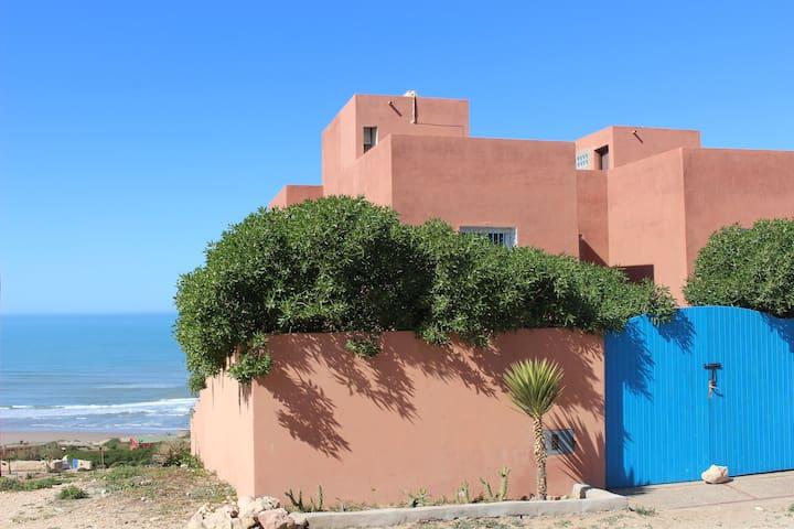 Villa SIDI RBAT 300m² front beach - Sidi R'bat - Villa