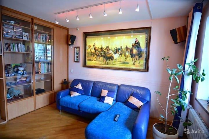 Большая 4комн Квартира  100 кв м - Kaluga - Lägenhet