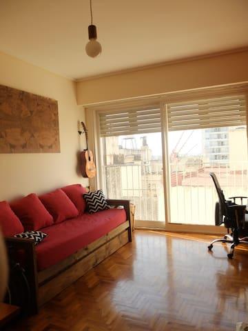 Comodísima Habitación privada en Villa Urquiza - Buenos Aires - Appartement