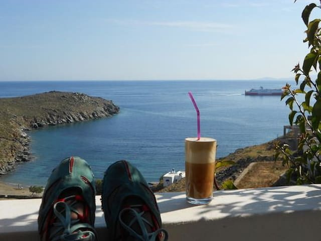 Ideal holiday house in Tinos - Kionia - Selveierleilighet