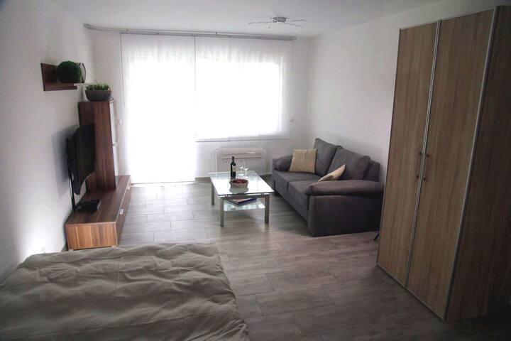 Apartment 02 - Kat.1 - ca. 36m² - Würselen - Daire