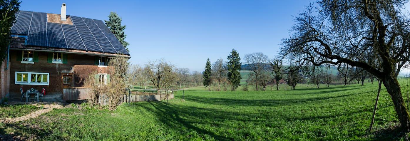 Altes Bauernhaus auf dem Land - Nottwil - Talo